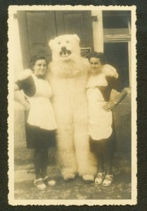 Polar Bear and Waitresses