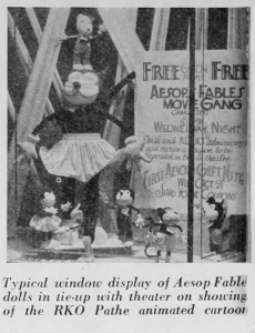 Aesop Fable Doll Ad