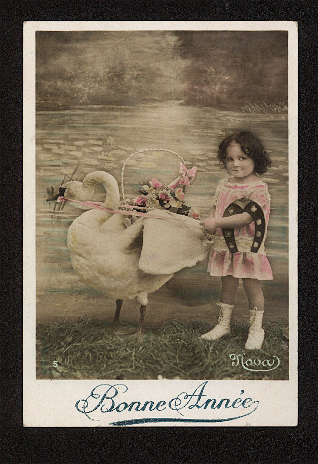 Girl and goose