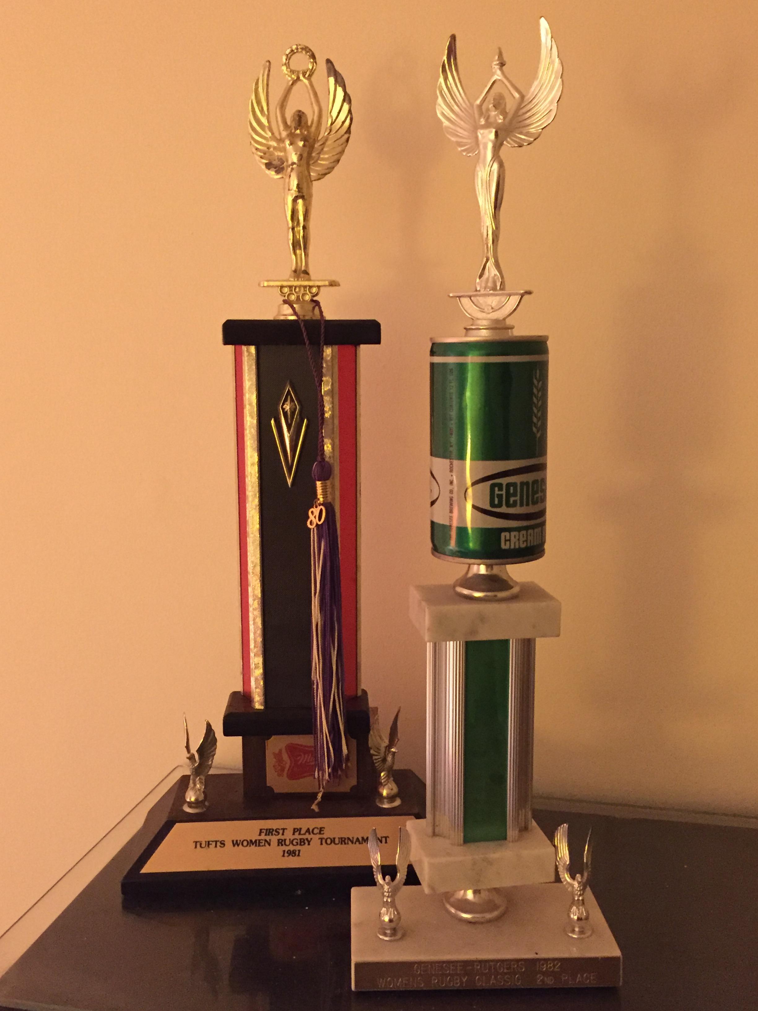 Loren's trophies