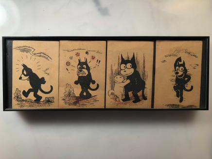 Felix the Cat chocolate cards, collection Pams-Pictorama.com