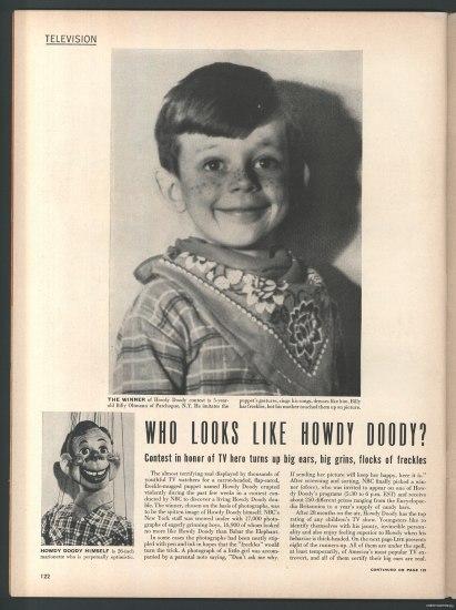 Oltman Howdy Doody Magazine