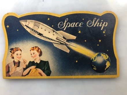 space ship needle book