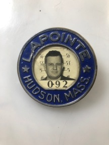 front of pin