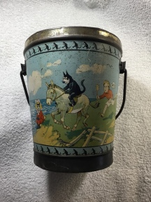 My very own Felix toffee pail! Pams-Pictorama.com collection.