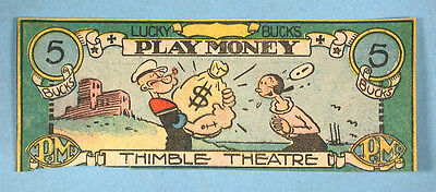 1932-Popeye-7-Lucky-Bucks-Play-Money-Thimble-_1-2