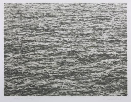 Ocean 1975 by Vija Celmins born 1938
