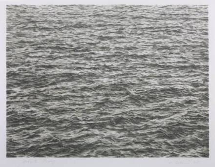 Ocean 1975 by Vija Celmins born 1938